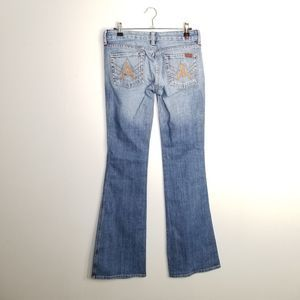 EUC 7 for All Mankind Flared Jeans 26